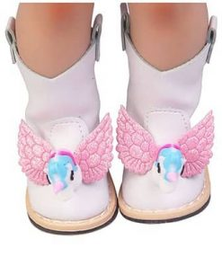 Unicorn Boots With Toy