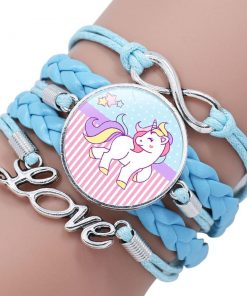 Unicorn Bracelet Blue