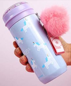 Unicorn Water Bottle Blue