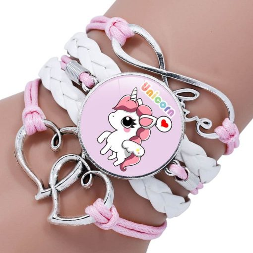 Unicorn Bracelet White