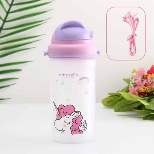 Unicorn Water Bottle Transparent