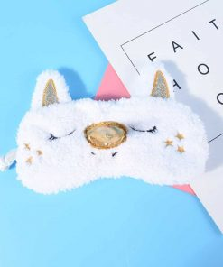 Unicorn Sleep Mask Fur
