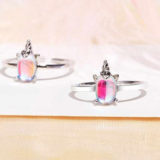 Unicorn Ring Opal Sterling