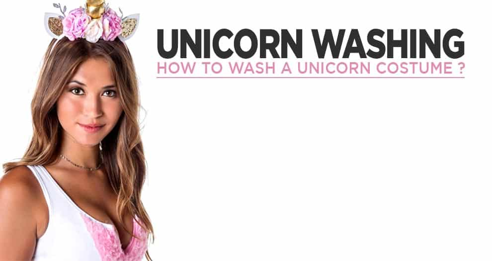How To Wash Your Unicorn Costume ?