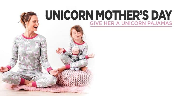 Mother's Day Give Your Mom Unicorn Pajamas