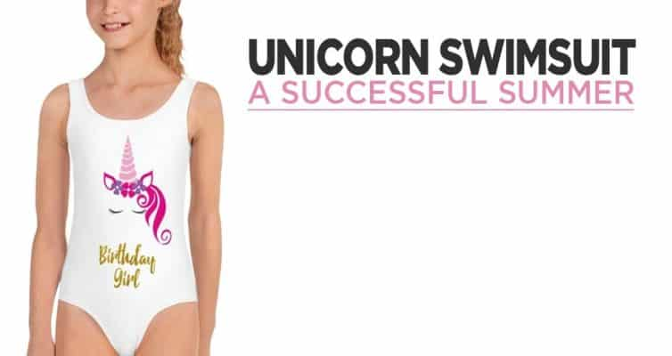 Unicorn Swimsuit For The Summer