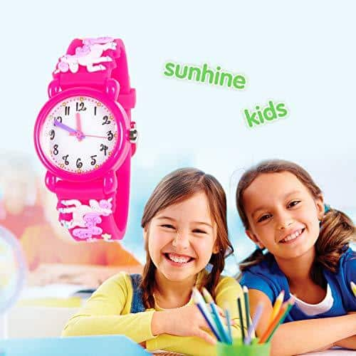 Pink Unicorn Watch For Kids