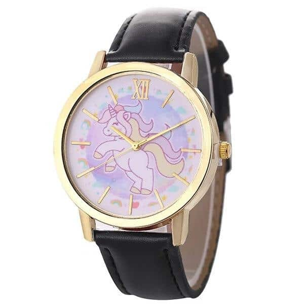 Unicorn Pink Gold Watch Girl