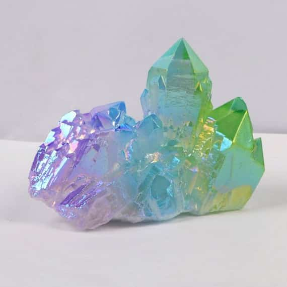 Unicorn Aura Crystal With Quartz
