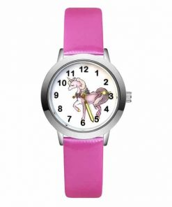 Pink Unicorn Lady Watch