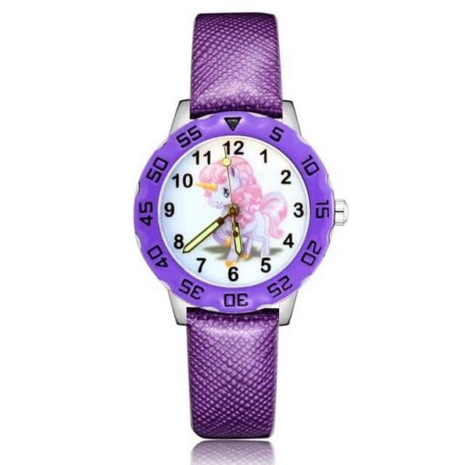 Purple Unicorn Learning Watch