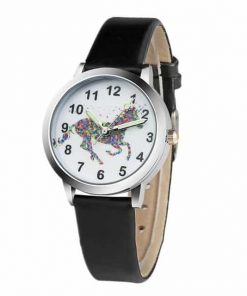 Unicorn Rainbow Motif Watch
