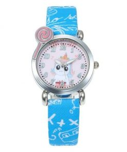 Unicorn Blue Watch For Boy