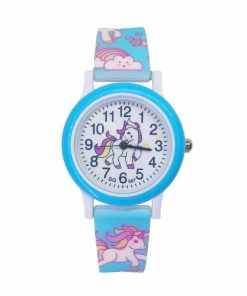 Unicorn Blue Watch Child