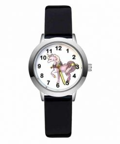Black Unicorn Elegant Watch Steel