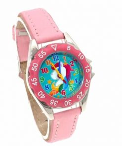 Unicorn Candy Pink Watch For Girls