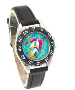 Unicorn Black Watch For Girls