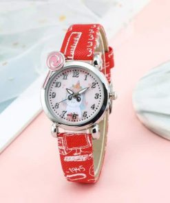 Unicorn Red School Watch