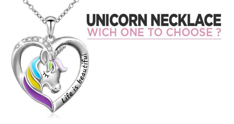 Unicorn Necklace : Gold, Diamond Or Silver Sterling ?