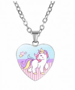 Necklace Small Unicorn Happiness Unicorn Stuffed Animals