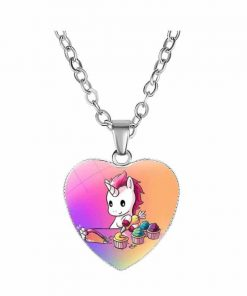 Necklace Unicorn Fancy At Sell