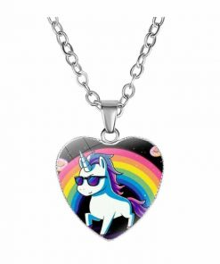 Necklace Unicorn Galaxy Not Dear