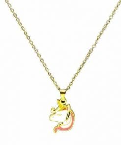 Necklace Unicorn Girl Buy