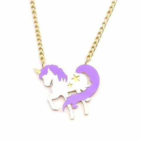 Necklace Unicorn Mane Divine Necklace Unicorn