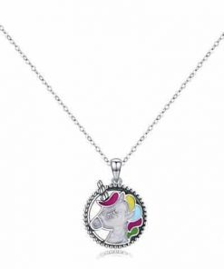 Necklace Unicorn Money Sterling At Sell