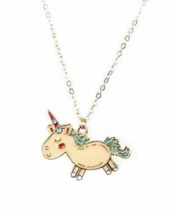 Necklace Unicorn Pendant Magic