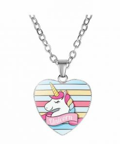 Necklace Unicorn Sweetness Multicolored