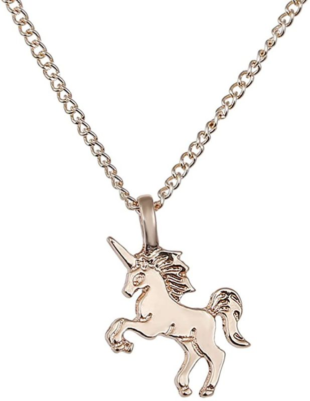Unicorn Necklace Chain In Gold