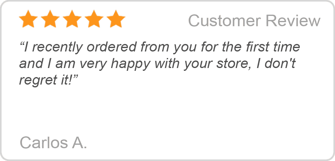 Customer Reviews 5